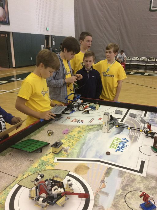 Key Robotics Success at Regionals Leads to State Competition