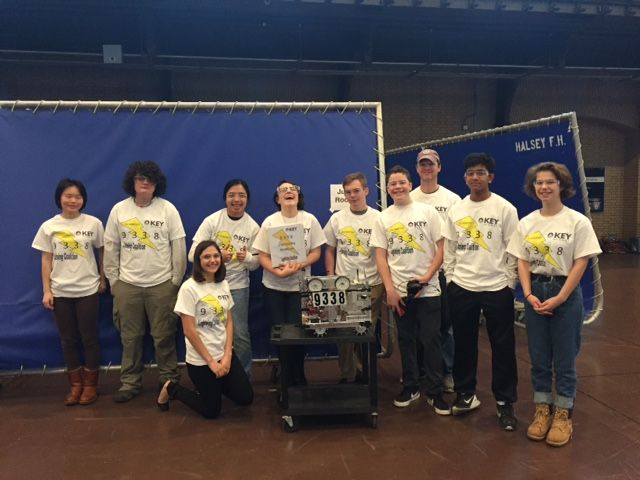 Upper School Robotics Places 5th in Regional Competition