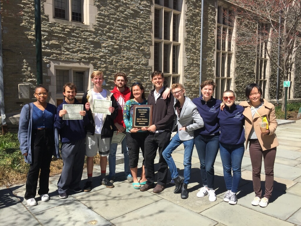 Best Small Delegation at Penn Model Congress
