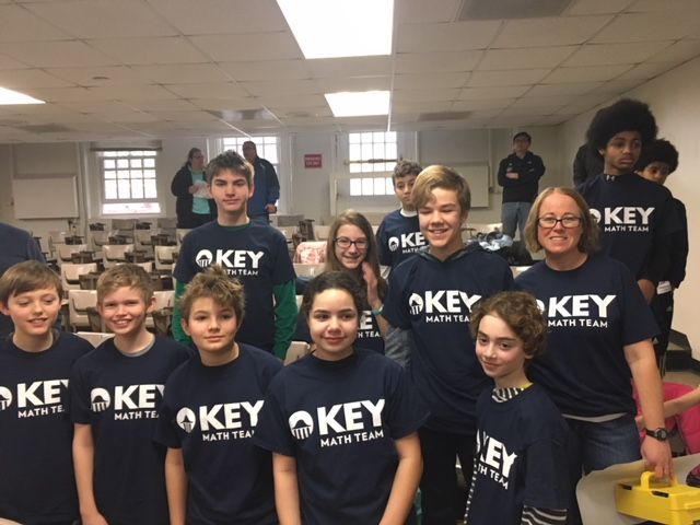 Middle School Math Team Members Advance to State Competition