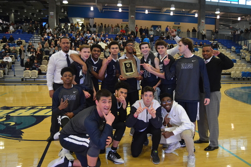 Boys' Varsity Basketball Defends Championship for Second Year in a Row