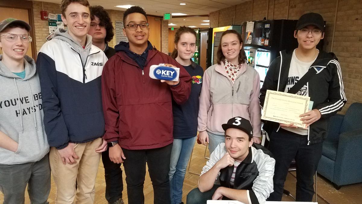 Math Team Finishes 5th Overall