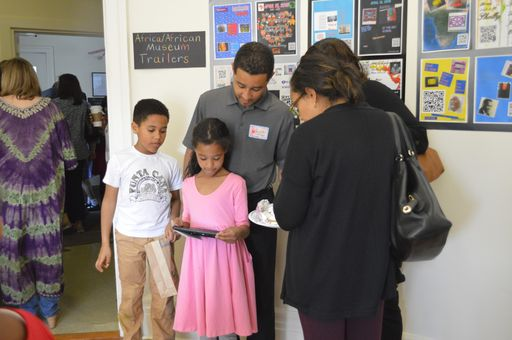 3rd Graders Welcome Visitors to African/African American Museum