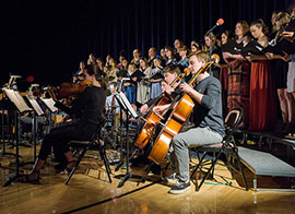 Upper School Orchestra & Chorus Performance