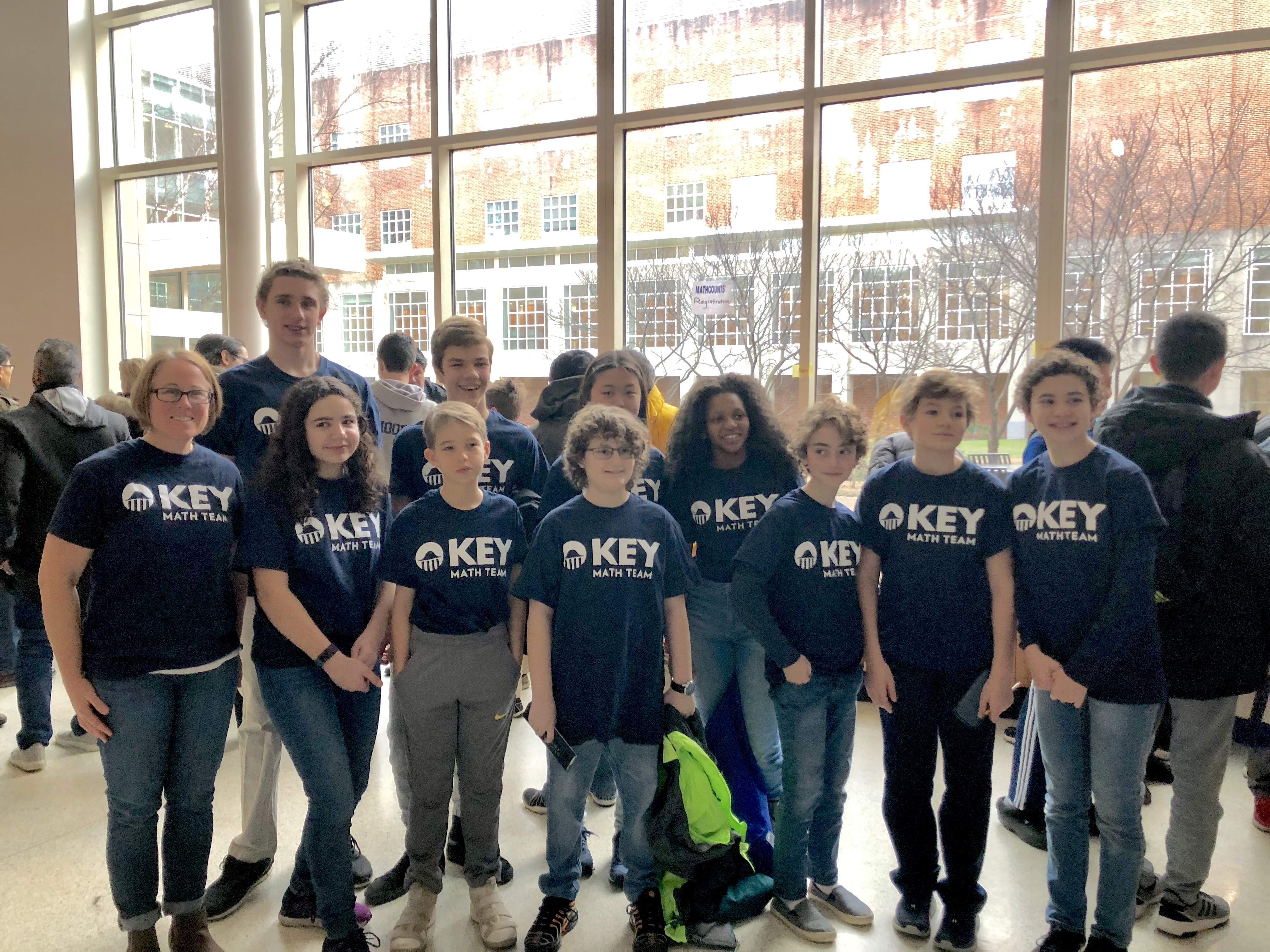 Middle School Math Team Places 2nd in County Competition
