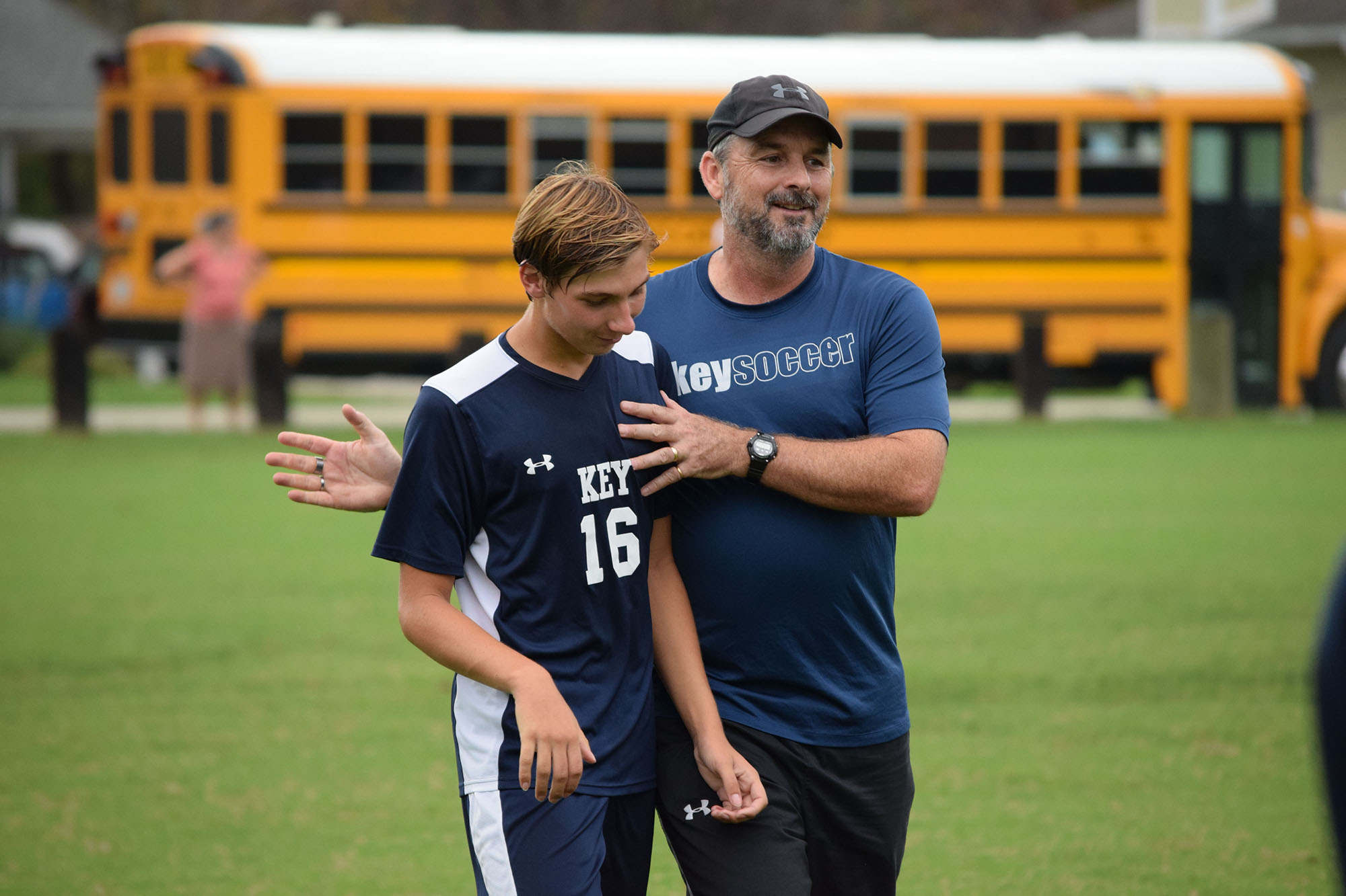 Dylan Lewis Earns 200th Career Win as Boys' Varsity Soccer Head Coach