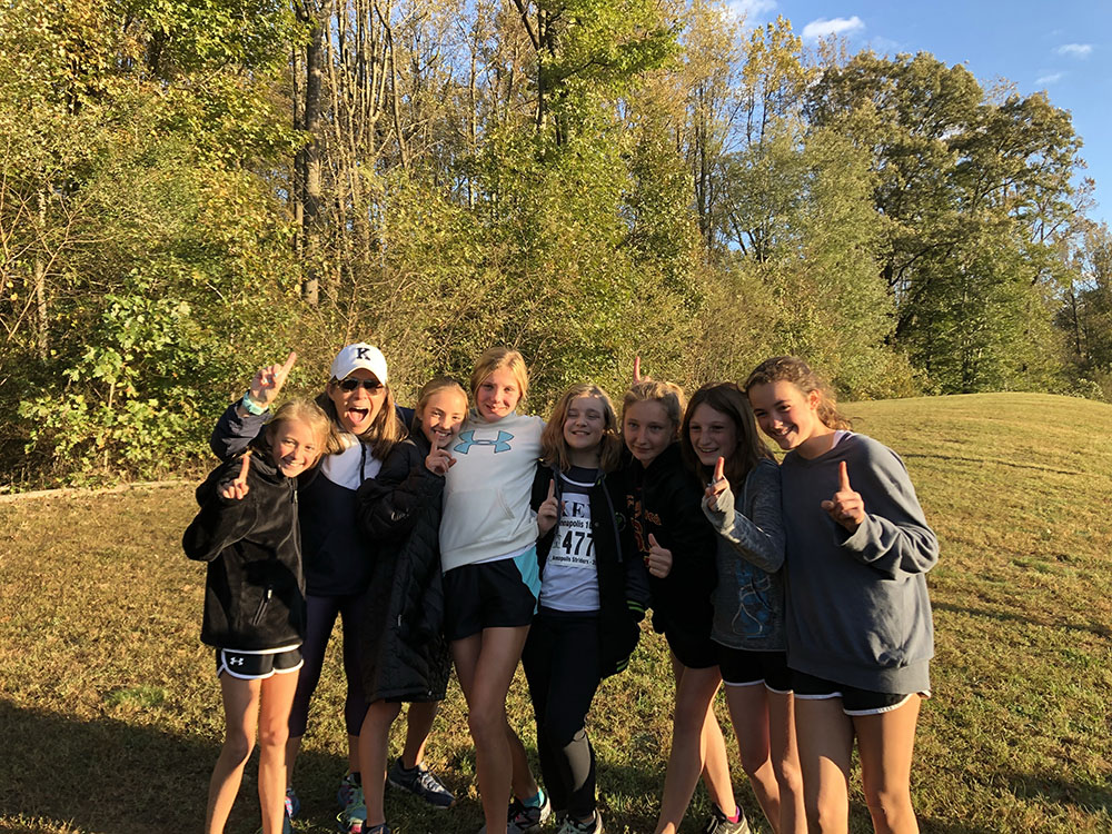 Middle School Cross Country Takes First in Championship