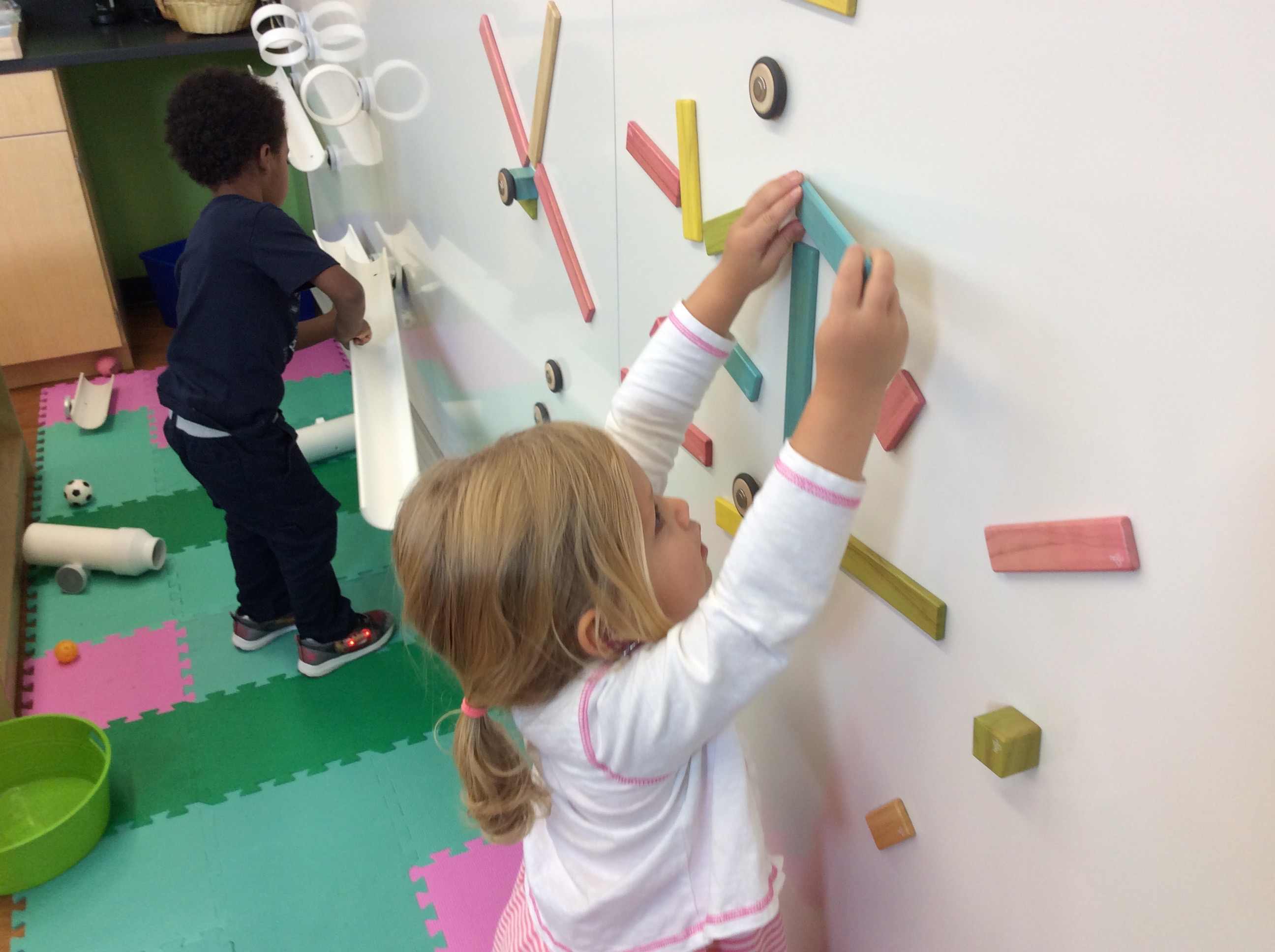 magnetic wall at treetop learning center
