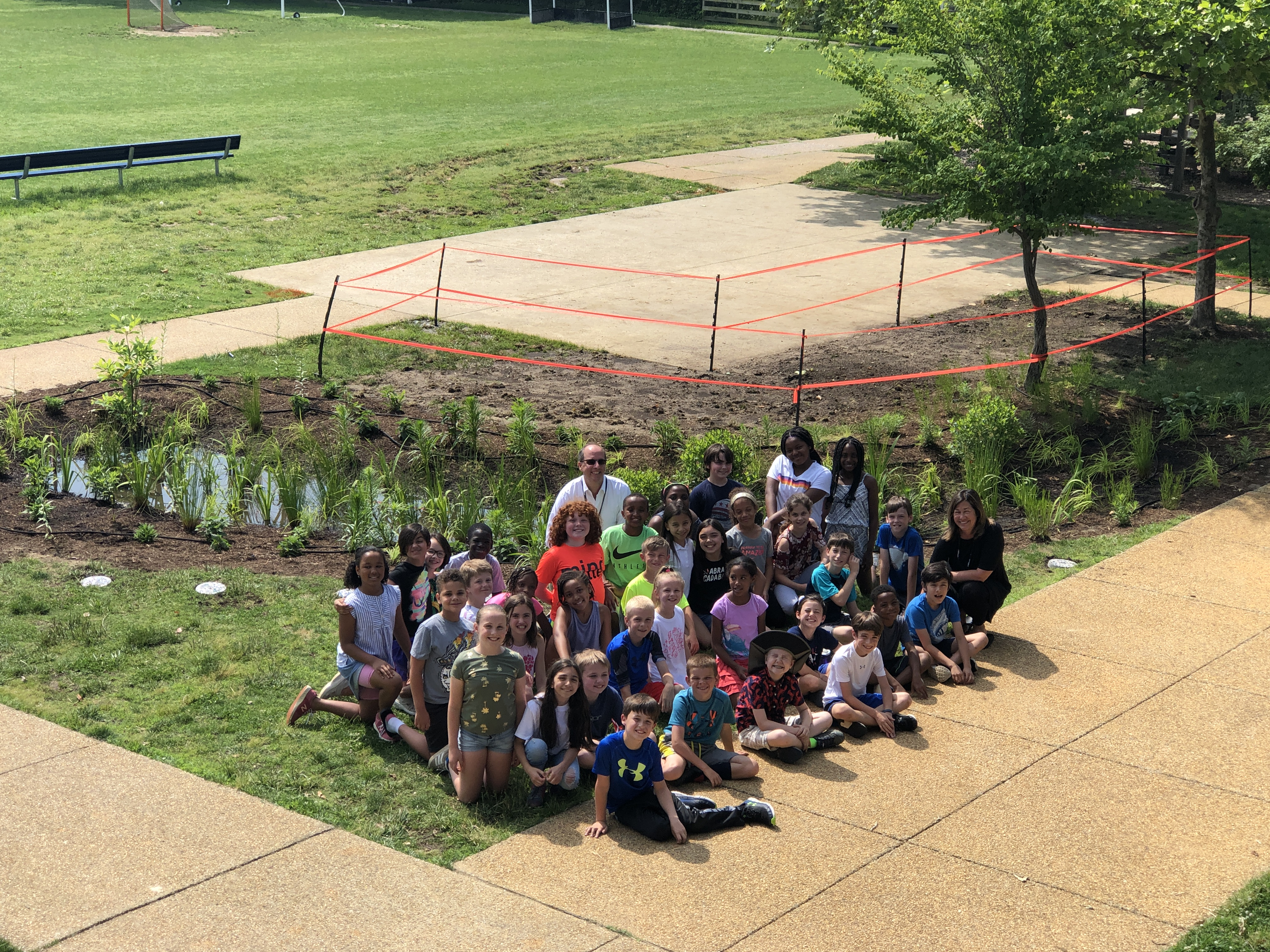 Perseverance Pays Off with a Rain Garden