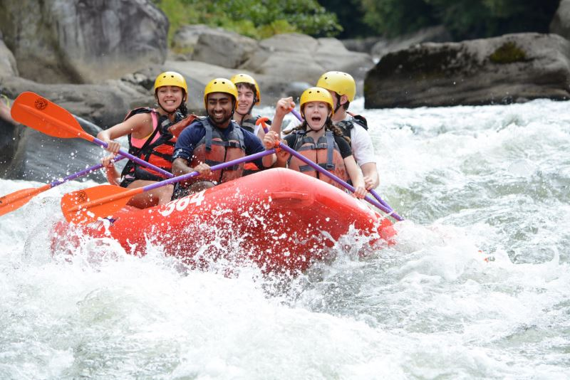 whitewater rafting at Youghiogheny River